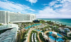 North Miami Resort located right on the beach